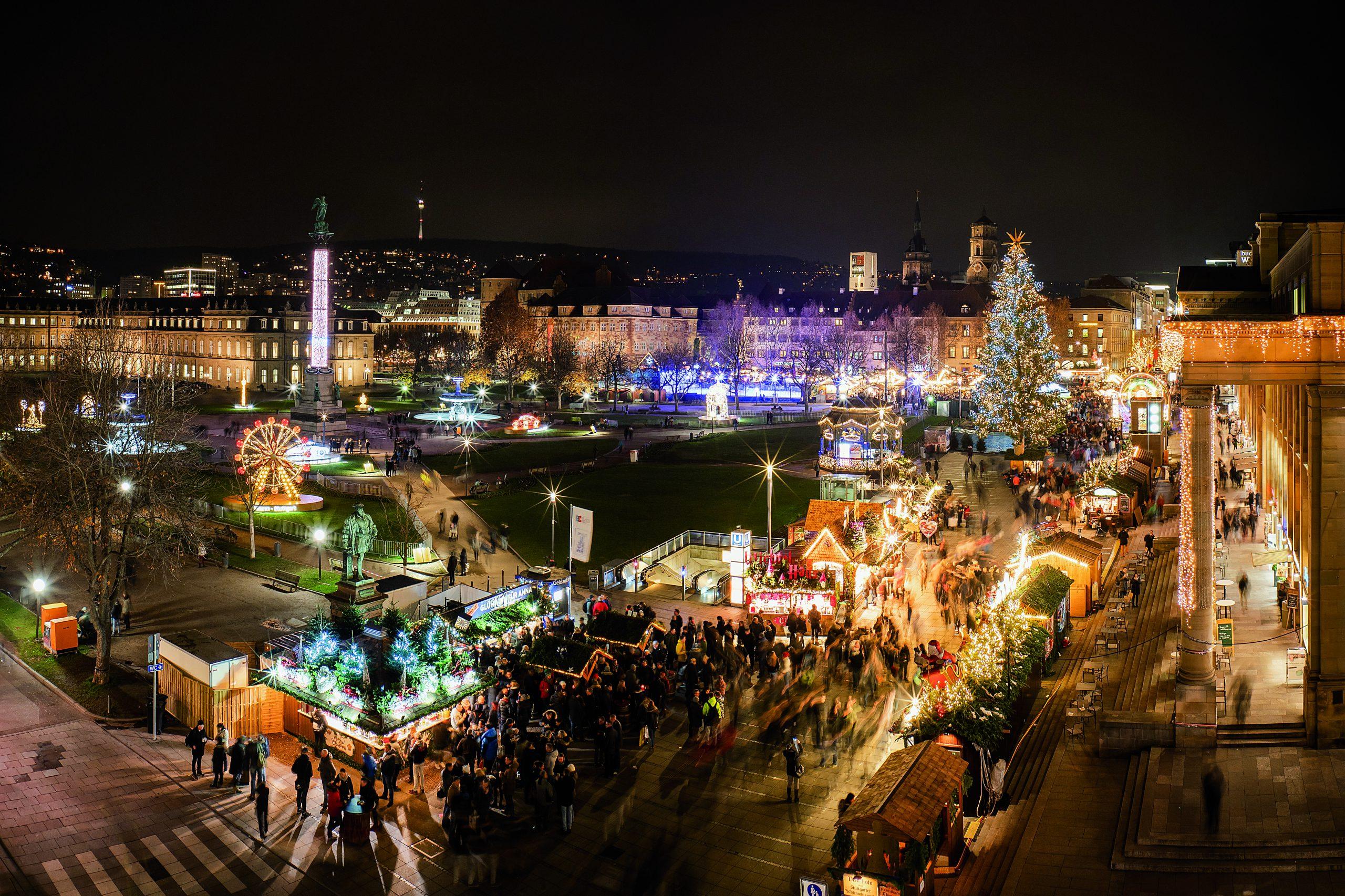 © Frank Hörner Weihnachtsmarkt_Schlossplatz, Stuttgart-Marketing GmbH
